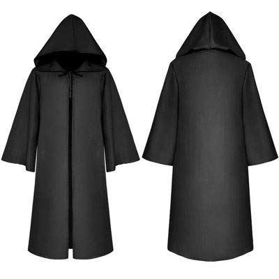 Cosplay Capa Medieval Vestido de Halloween con Capucha Traje ...