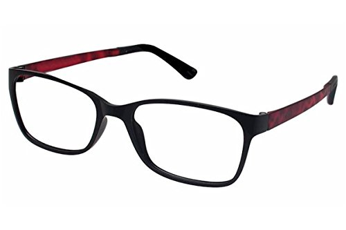 5d1ae0ad1f Amazon.com  Esprit Women s Eyeglasses ET17444 ET 17444 538 Black Full Rim Optical  Frame 52mm  Clothing