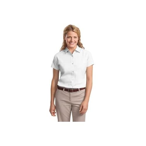 6cfe8d21 Port Authority Ladies Short Sleeve Easy Care Shirt. L508 [Apparel]  well-wreapped