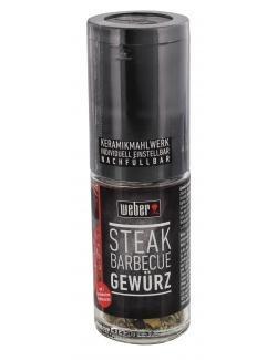 Weber Gewürz / Gewürzmühle Steak Barbecue 28g