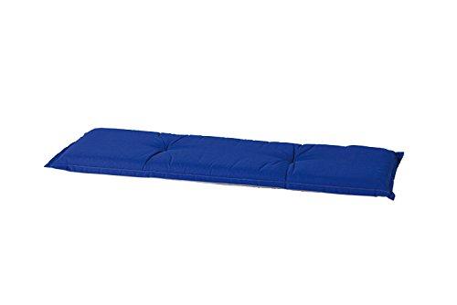 8-cm-Luxus-3-Sitzer-Bankauflage-B-250-ca-150x48x8-cm-uni-dunkelblau
