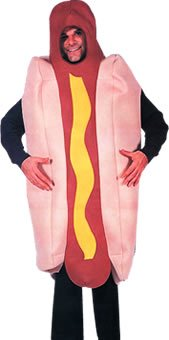 Delux (Hot Dog Costume For Adults)