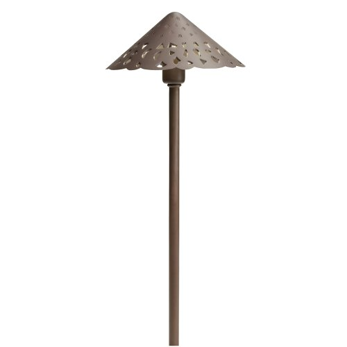 Kichler 15871BBR LED Hammered Roof Pathway Light