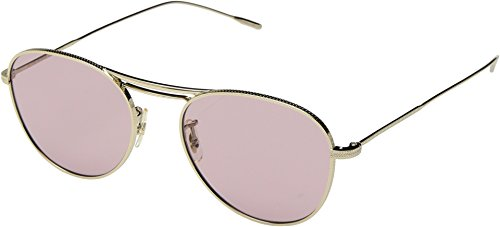 Oliver Peoples Unisex Cade Gold/Pink One - Oliver Nose Peoples Pads