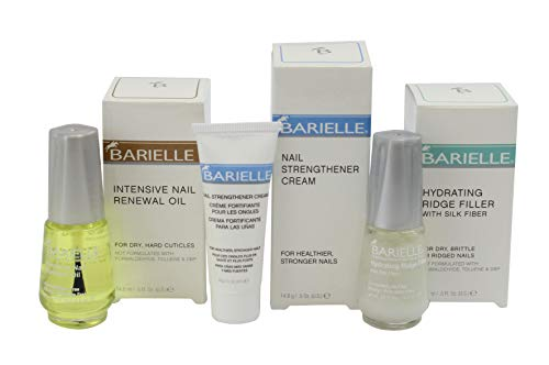 Barielle Fixer-Upper Bundle: Nail Strengthener and Regrowth Kit (Barielle Cream)