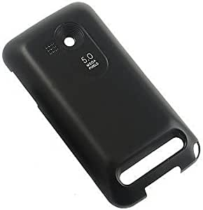 NEW BLACK BACK DOOR COVER FOR VERIZON HTC IMAGIO (MADE FOR EXTENDED BATTERY)