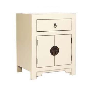 nanjing chinese style 2 drawer bedside cabinet aged cream rh amazon co uk