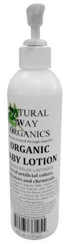 Natural Way Organics Organic Baby Lotion Miracle Relax – Lavender – 8 oz, Health Care Stuffs