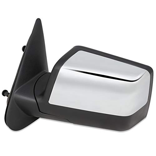 FO1320315 OE Style Manual Driver/Left Side View Door Mirror for Ford Ranger 06-11