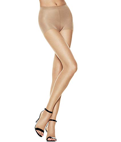 Hanes Silk Reflections Control Top Toeless Pantyhose, A/B, Bisque