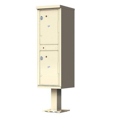 1590V2 Outdoor Parcel Locker Color: Sandstone Powder Coat