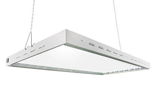 T5 HO Steel Grow Light | 4 FT 16 Bulbs | DL8416ST | Fluorescent Hydroponic Indoor Fixture | Veg Bulbs