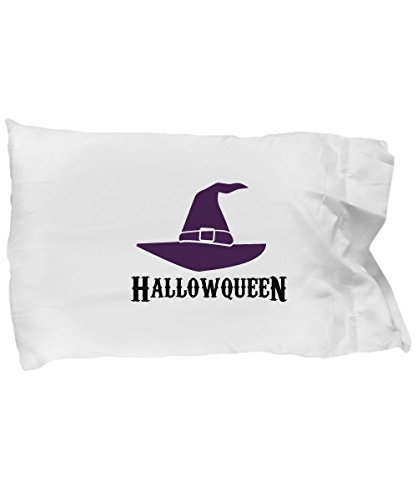Pillow Covers Design HalloQueen Halloween Witch Funny Men Women Gift Pillow Cover Ideas