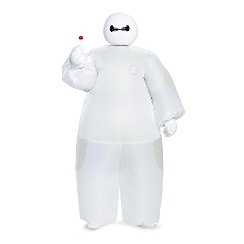 White Baymax Inflatable Costume, Child (Robot Costume Halloween)