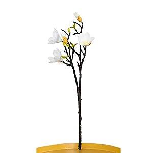 Springdoit Classical Fake Flower Simulation Magnolia Wedding Bouquet Handmade Ornament 53cm Unique 103