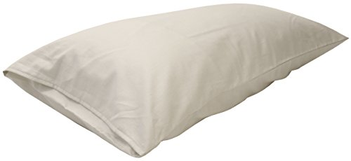 Bean Products King PILLOWCASE - Enclosed Sleeve Style - Wheat Dreamz -100% Certified Organic - Made in USA - Organic Natural