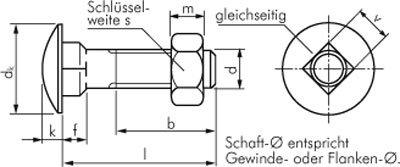 M 5x16 Flachrundschraube DIN 603 Stahl verzinkt 3.6//4.6 Werkstoff:Stahl verzinkt 3.6//4.6 d:M 5