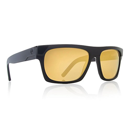 Dragon Alliance Viceroy Black Gold Sunglasses with Gold Ion - Sunglasses Ion
