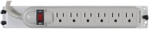 Channel Vision C-0702 6 Outlet Surge Protector Power Strips