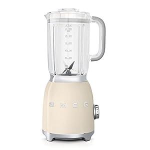 Smeg BLF01CRUS 50's Retro Style Aesthetic Blender (600 W Motor), Cream