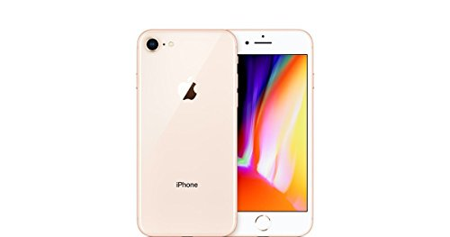 Apple Iphone 8, T-mobile, 64GB - Gold (Renewed)