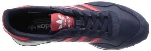 Adidas Ocis Runner Herren Schuh Sneaker Leder Navy/Rot NNY/COLRED/RUNWHT
