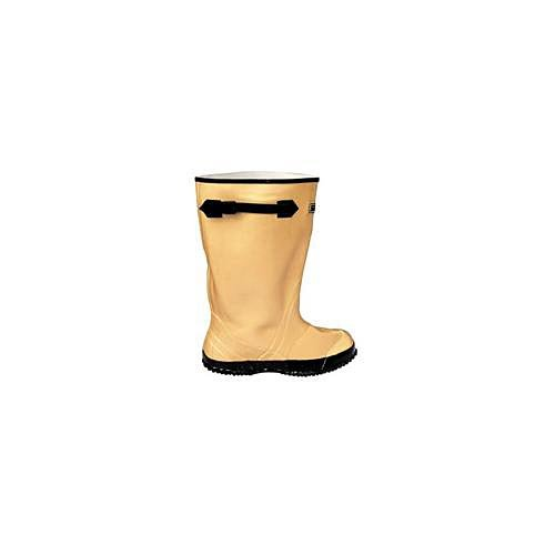 Contractors Lightweight Rubber Overboots - Yellow