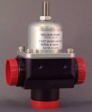 High Flow Bypass Regulator A2047-438-T-120 Weldon A2047 Series