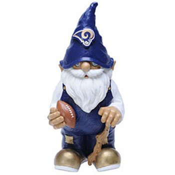 Los Angeles Rams Garden Gnome - 11 Male