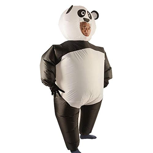 Fityle Inflatable Costume Blowup Panda Suit Halloween Christmas Cosplay Fancy Dress Funny Game Toy