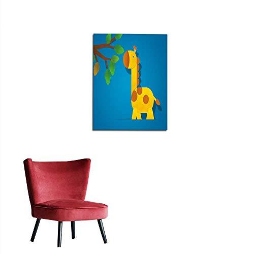 longbuyer Corridor/Indoor/Living Room Giraffe Paper Clipart Mural 32