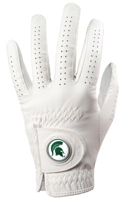 (Michigan State Spartans Golf Glove & Ball Marker - Left Hand -)