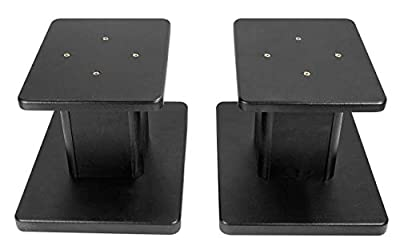 Rockville Pair Computer/Bookshelf Desktop Speaker/Studio Monitor Stands RHT8G from Rockville