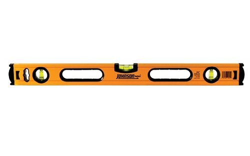 Johnson Level 1735-2400 24'' Aluminum Box Beam Level by Johnson Level