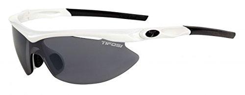 Tifosi Slip Sports Glasses, Mens, Slip, Pearl White, One Size Size ()