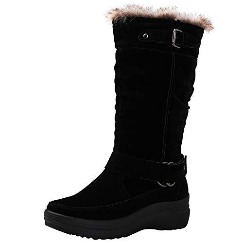 GLOBALWIN Womens Rylee Fashion Snow Boots