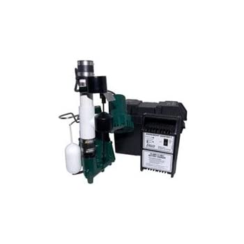 Zoeller 507 0011 Pro Pak 98 Backup Pump System W Basement