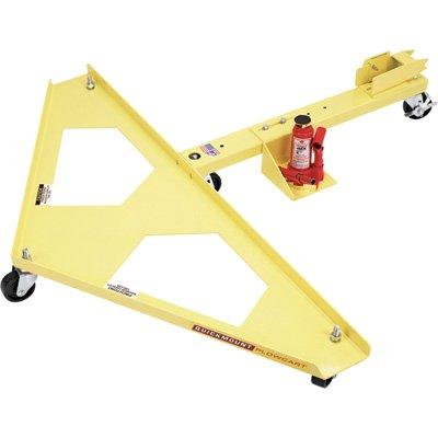 Quick Mount Snowplow Cart - Full V Cart w/Bottle Jack