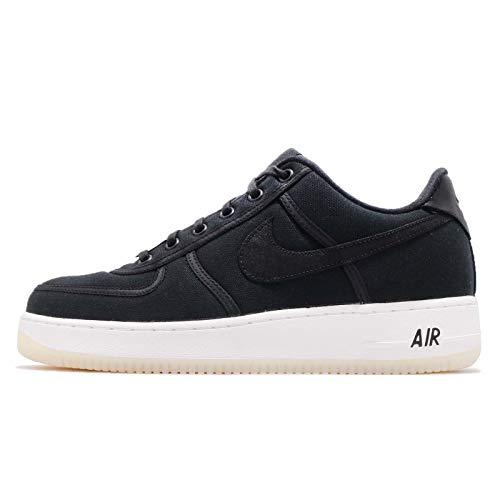 - Nike Air Force 1 Low Retro QS Canvas Big Kids' Shoes Black/White Summit ah1067-004 (10.5 M US)