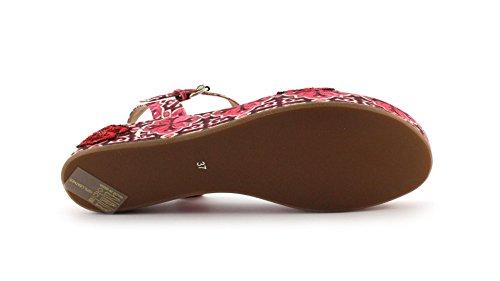 Sandalo Coral Blue CB.K217.28 RED Taglia 36 - Colore ROSSO