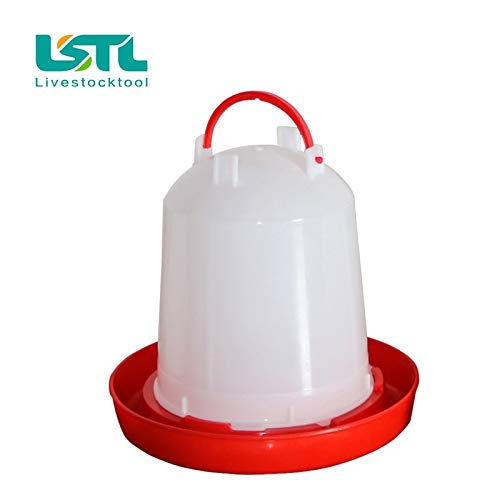 Poultry Waterer - 750ml Chicken Waterer Automatic Chick Drinker Cups Pheasant Feeders Drinking Fountain Poultry Ing Feeding Equipment by Aquat