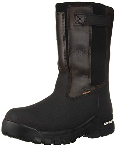 Image of Carhartt Men's CSA 10-inch Rugged Flex Wtprf Isulated Work Pull-on Comp Safety Toe Cmr1999 Industrial Boot