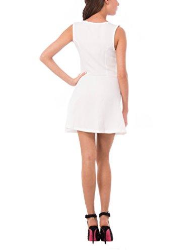Vestido Mujer Abito Sophistiquees Para Blanco Smanicato 06 Les blanco fOFwtWqW