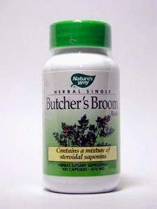 - Natures Way Butchers Broom Root