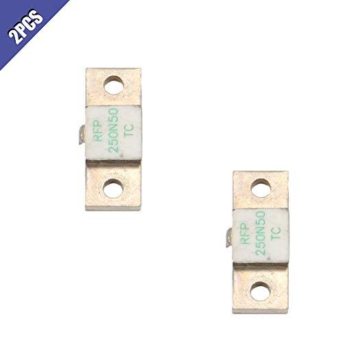 Ximimark 2Pcs RF Termination Microwave Resistor Dummy Load RFP 250N50 250W 50ohms DC-3GHz
