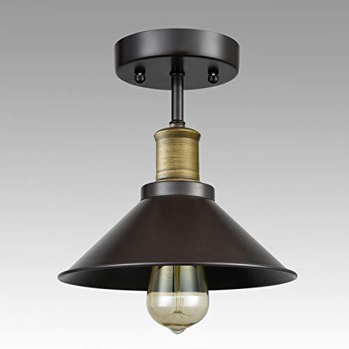 CLAXY Ecopower Industrial Mini Edison Ceiling Light 1