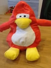Club Penguin Red Puffle - RARE - Very RARE - Inside Out Red Penguin and Puffle - Must See All Photos