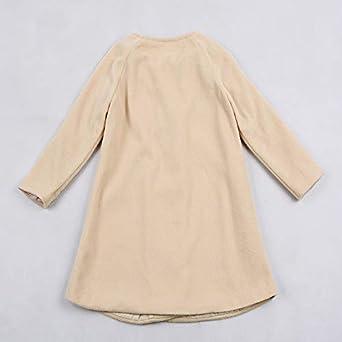Abrigo Trenca Bebé, LANSKIRT Bebé Niñas Otoño Invierno Outwear Chaqueta de Capa Chaqueta de Botones Ropa de Abrigo Caliente: Amazon.es: Ropa y accesorios