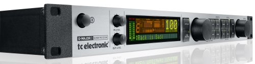 TC Electronic G-Major 2 Rack Mount Guitar Effects Processor with 8 Simultaneous Effects and Re-designed User Interface