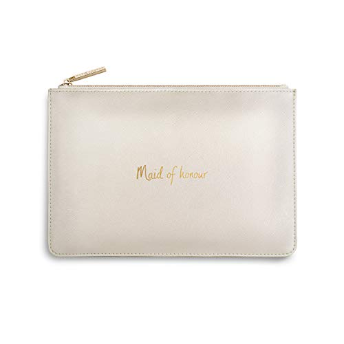 Katie Loxton Perfect Pouch Maid of Honour Pearly White